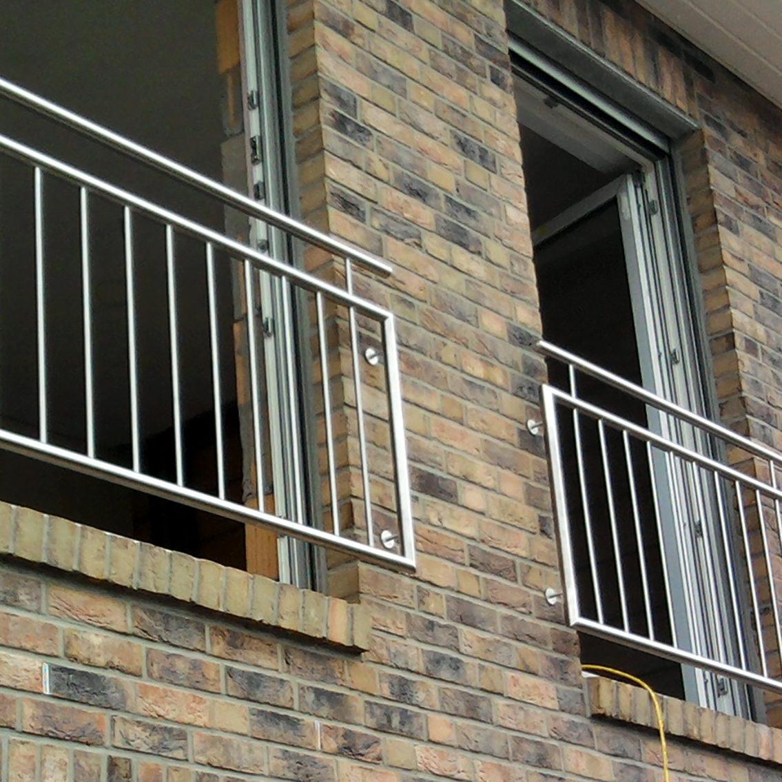 Edelstahl-Fenstergitter